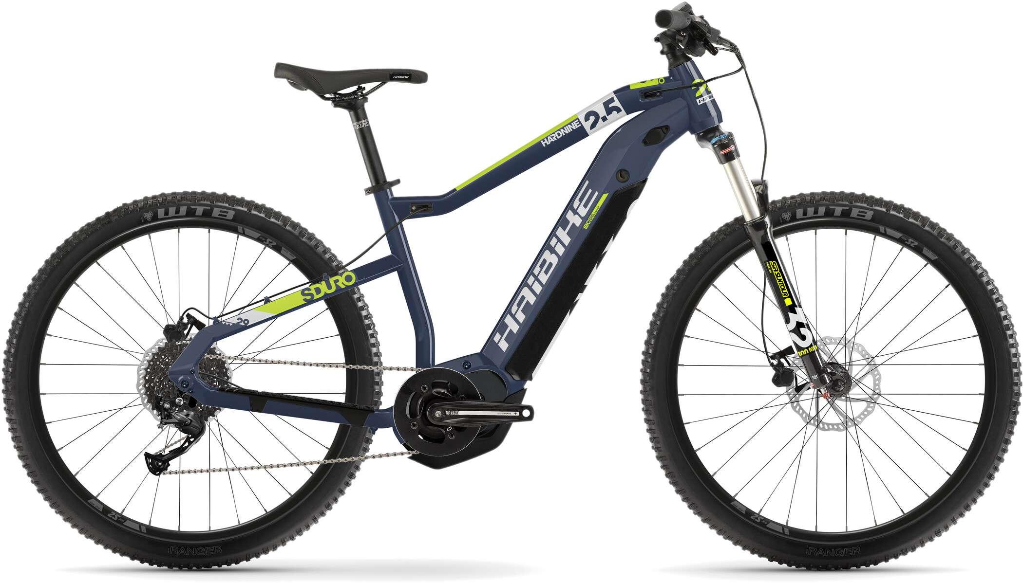 Bicicleta eléctrica de montaña para excursiones